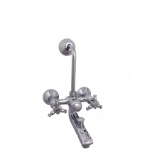 Vireo Wall Mixer 3 In 1 With Hand Shower,Pipe & Hook