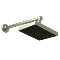 6inches X 6inches Square Shower With 15inch Long Arm