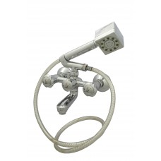 Dove Wall Mixer Crutch With Hand Shower & Pipe