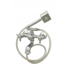 Jade Wall Mixer Crutch With Hand Shower and Pipe