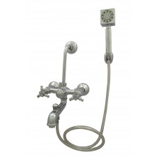Jade Wall Mixer 3 in 1 With Hand Shower,Pipe & Hook