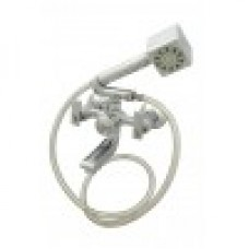 Omega Wall Mixer Crutch With Hand Shower & Pipe