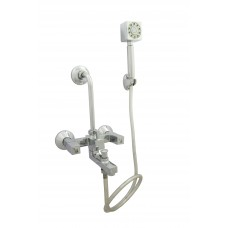 Orion Wall Mixer 3 in 1 With Hand Shower,Pipe & Hook