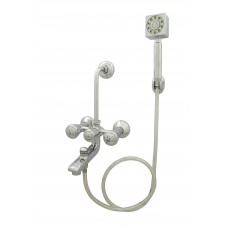 Razal Wall Mixer 3 in 1 With Hand Shower,Pipe & Hook